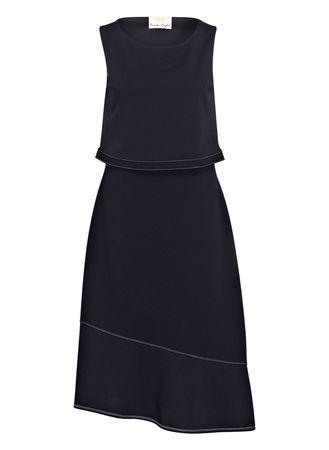 Phase Eight  Kleid Torrie blau schwarz