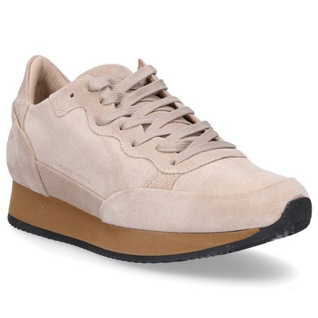 Philippe Model  Sneaker low TROPEZ Logo beige braun