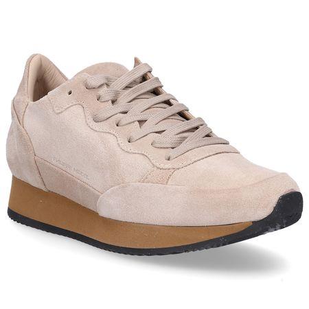 Philippe Model  Sneaker low TROPEZ Veloursleder Logo beige braun