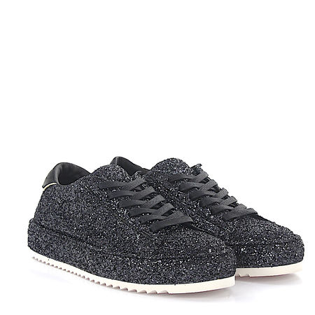 Philippe Model Sneaker Marais L D Glitter schwarz grau