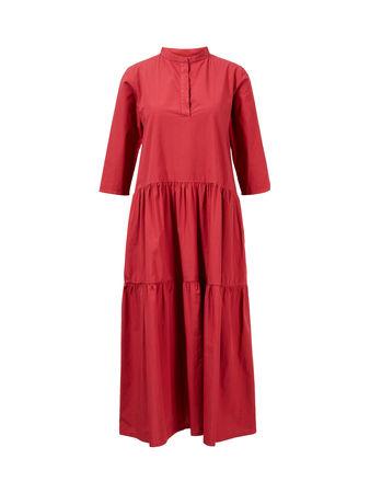 Philo  - Sommerkleid mit Stehkragen Rot rot