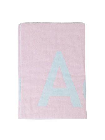 Acne Studios  - Woll-Schal 'Toronty' Hellblau/Pink