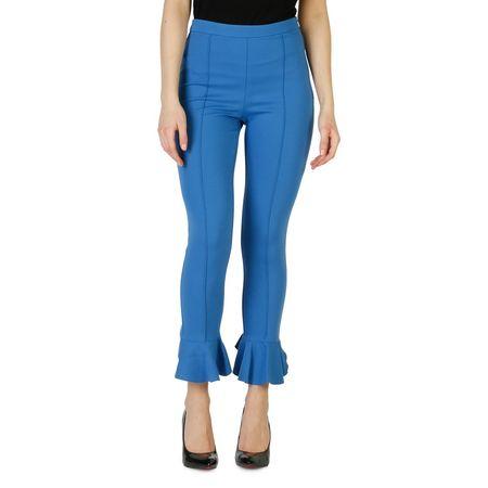 PINKO  Hose mit Volant Blau blau