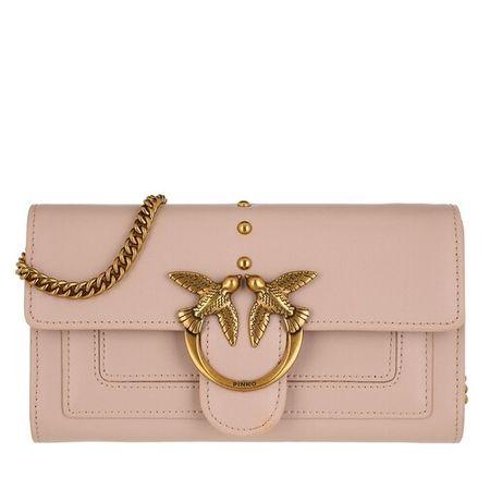 PINKO  Portemonnaie - Love Wallet Simply 3 C - in rosa - für Damen