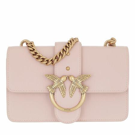 PINKO  Satchel Bag - Love Mini Icon Simply 10 Cl Vi - in Quarz - für Damen