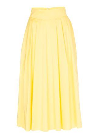 Piu & Piu Tellerrock in Gelb gelb