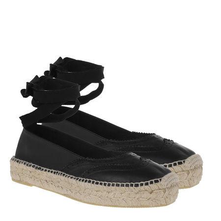 Polo Ralph Lauren  Espadrilles - Casual Tie Espadrilles - in schwarz - für Damen schwarz