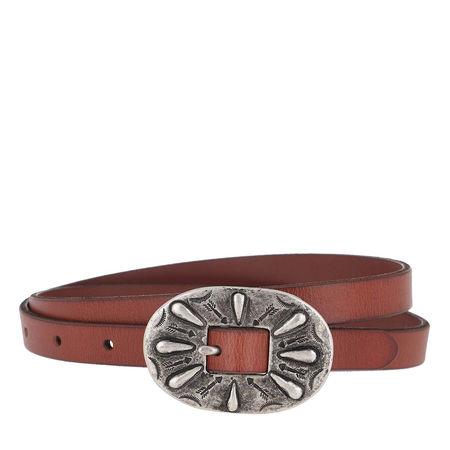 Polo Ralph Lauren  Gürtel  -  Skinny Arizona Belt Cuoio  - in braun  -  Gürtel für Damen braun