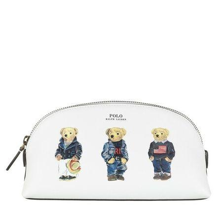 Polo Ralph Lauren  Kosmetiktaschen - Cosmetic Bag Case Small - in white - für Damen