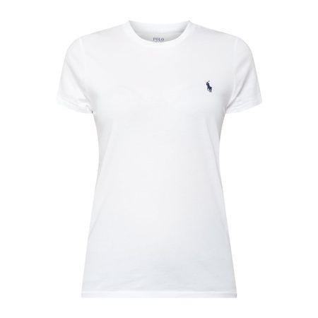 Polo Ralph Lauren T-Shirt mit Logo-Stickerei grau