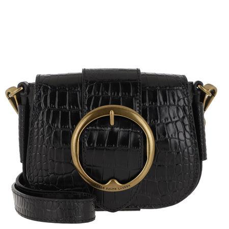 Polo Ralph Lauren  Umhängetasche  -  Crossbody Mini Black  - in schwarz  -  Umhängetasche für Damen schwarz