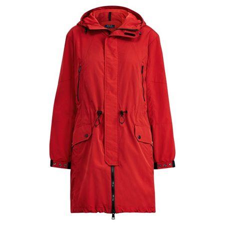 Polo Ralph Lauren Wasserabweisende Windjacke rot