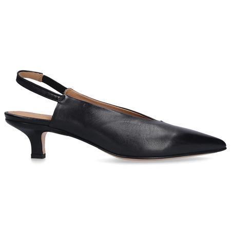 Pomme d´or Sling-Ballerinas 4576 Nappaleder schwarz schwarz