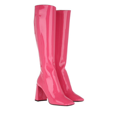 Prada  Boots  -  Boots Patent Leather Fuxia  - in pink  -  Boots für Damen pink