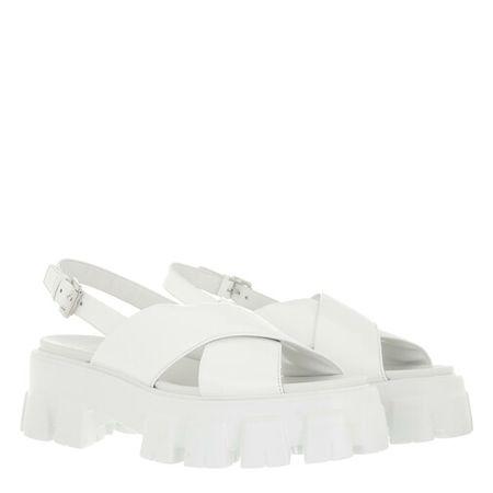 Prada  Sandalen & Sandaletten - Sandals - in weiß - für Damen
