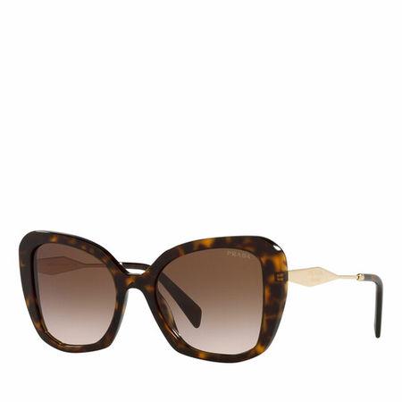 Prada  Sonnenbrille - Woman Sunglasses 0PR 03YS - in brown - für Damen