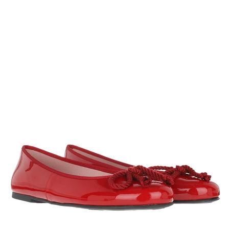 Pretty Ballerinas  Ballerinas  -  Rosario Ballerinas Patent Leather Ruby  - in rot  -  Ballerinas für Damen rot