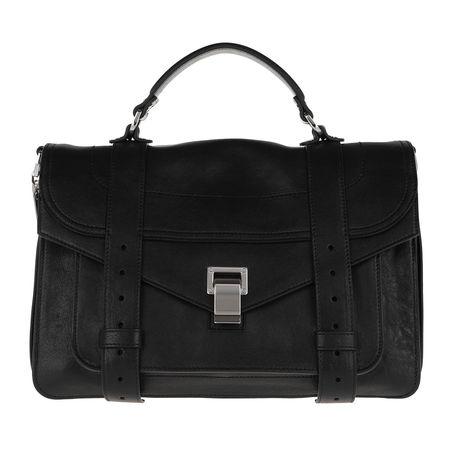Proenza Schouler  Satchel Bag - PS1 Medium Crossbody Bag Lamb Leather - in black - für Damen schwarz