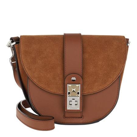 Proenza Schouler  Umhängetasche  -  PS11 Small Saddle Bag Calfskin Chocolate  - in braun  -  Umhängetasche für Damen braun