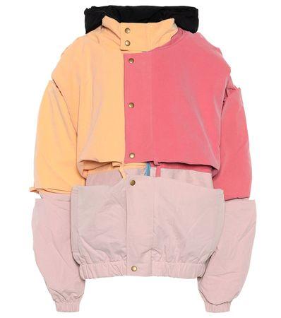 Y/PROJECT Jacke aus einem Baumwollgemisch rot