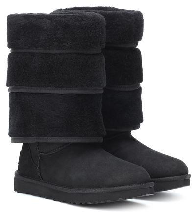 Y/PROJECT X UGG Stiefel Tripple Cuff schwarz