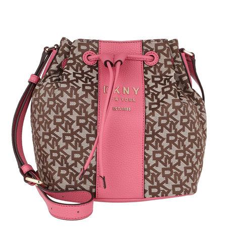 DKNY  Beuteltasche  -  Bucket Back Noho Chino/Punch  - in bunt  -  Beuteltasche für Damen rot