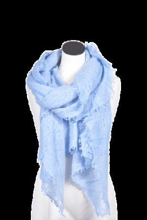 Pur Schoen  Edles Cashmere-Tuch von , Bleu Damen