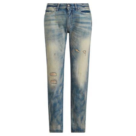 Ralph Lauren Collection Boyfriend-Jeans 320 grau