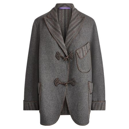 Ralph Lauren Collection Jacke Arla aus Wollmischung grau