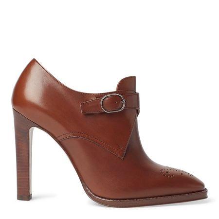 Ralph Lauren Hoher Schuh Lalisa aus Kalbsleder