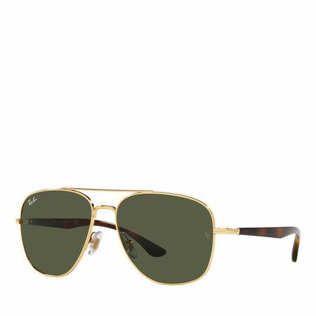 Ray Ban Ray-Ban Sonnenbrillen - Unisex Sunglasses 0RB3683 - in dark green - für Damen