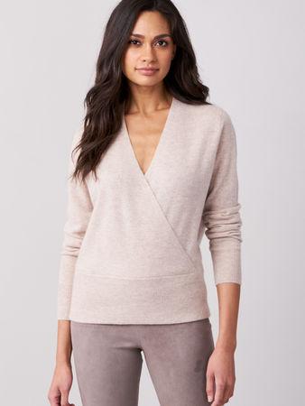 Repeat Cashmere Wickel-Pullover aus Kaschmir grau