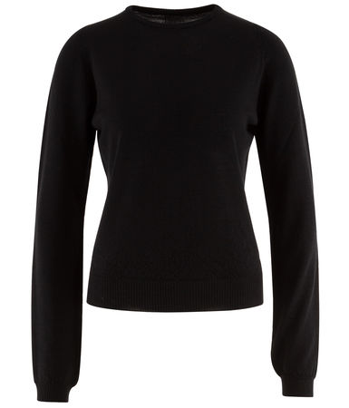 Rick Owens  - Pullover aus Wolle schwarz