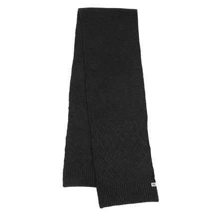 Roeckl  Accessoire  -  Rhomb Jacquard Scarf 28x170 Anthracite  - in grau  -  Accessoire für Damen schwarz