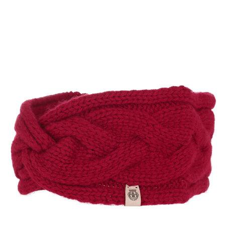 Roeckl  Caps  -  Braided Cashmere Headband Classic Red  - in rot  -  Caps für Damen pink