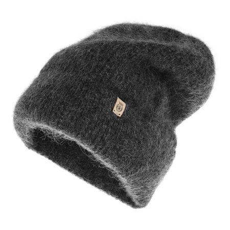 Roeckl  Caps  -  Mohair Check Hat Anthracite  - in grau  -  Caps für Damen grau
