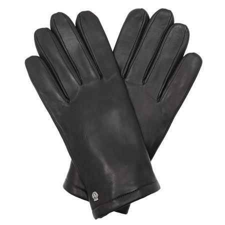 Roeckl  Handschuhe  -  Men Glacé Cashemere Gloves Mocca  - in braun  -  Handschuhe für Damen grau