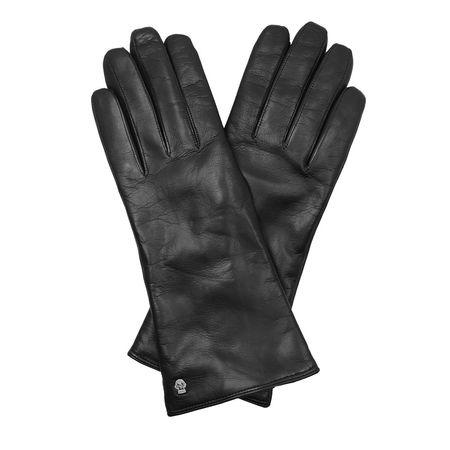 Roeckl  Handschuhe  -  Women Classical Cashmere Medium Gloves Black  - in schwarz  -  Handschuhe für Damen grau