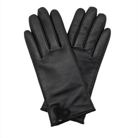 Roeckl  Handschuhe  -  Women Tiny Belt Gloves Black  - in schwarz  -  Handschuhe für Damen grau