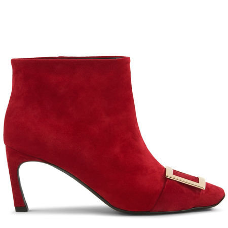 Roger Vivier  - Ankle Boots Trompette rot