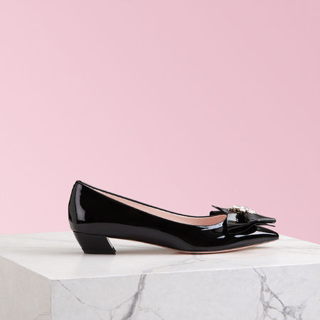Roger Vivier  - Ballerinas Bow Jewels rot