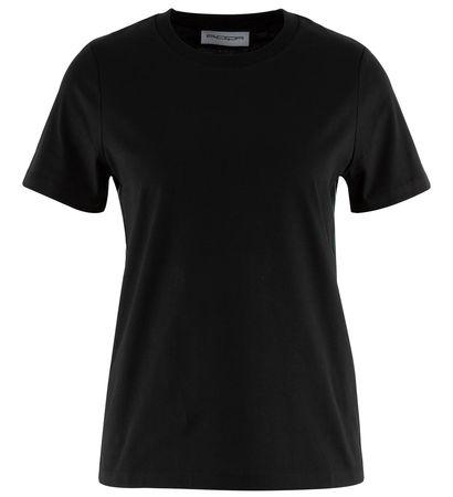 Roqa  - T-Shirt aus Baumwolle schwarz