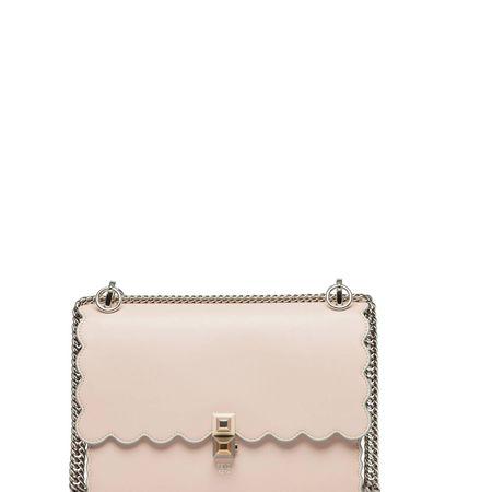 Fendi ® - Handtasche aus Leder in Altrosa/Rosa für Damen, Größe UNI beige