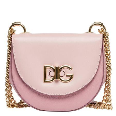 Dolce&Gabbana Dolce & Gabbana® - Handtasche aus Leder in Altrosa/Rosa für Damen, Größe UNI braun
