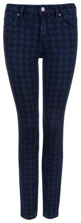 Rosner Damen Skinny Jeans Antonia_L49 Dunkelblau grau