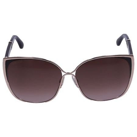 Jimmy Choo  Sonnenbrille Oversized MATY/S 17CVS Acetat weiss grau