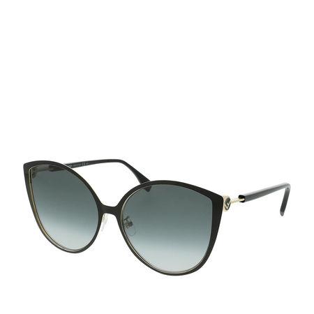 Fendi  Sonnenbrille  -  FF 0395/F/S Black Gold  - in schwarz  -  Sonnenbrille für Damen grau