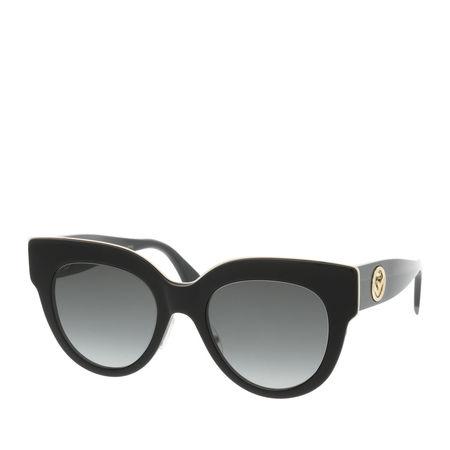 Fendi  Sonnenbrille  -  FF 0360/G/S Black  - in schwarz  -  Sonnenbrille für Damen grau