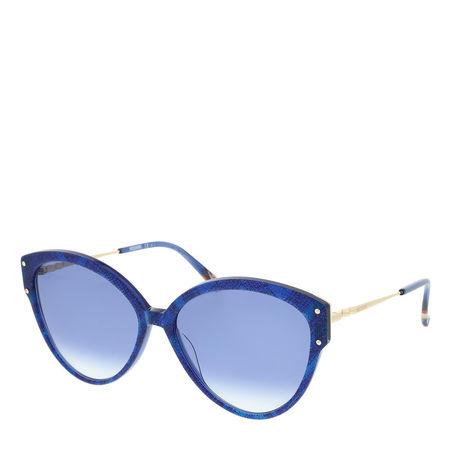 Missoni  Sonnenbrille  -  MIS 0004/S Blue Pattern  - in blau  -  Sonnenbrille für Damen blau