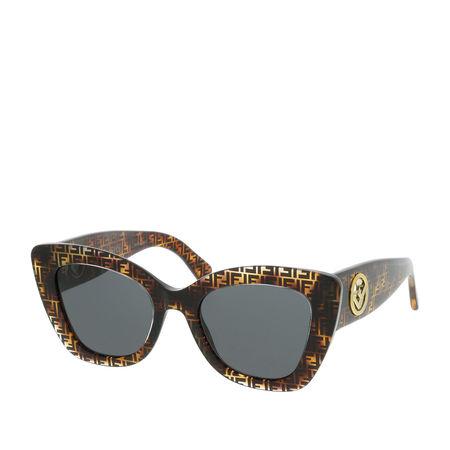 Fendi  Sonnenbrille  -  FF 0327/S Dark Havana  - in braun  -  Sonnenbrille für Damen grau